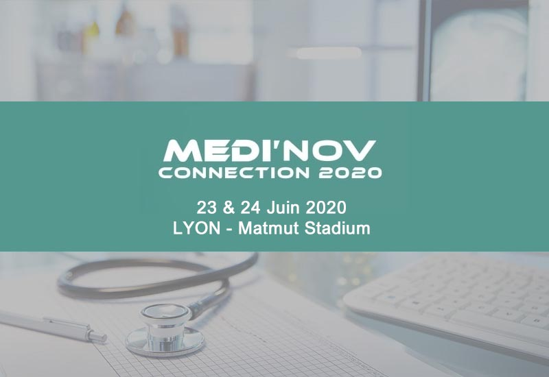 I2S Evenement i2S MedCare : 8th edition of MEDI'NOV CONNECTION exhibition – Lyon, France