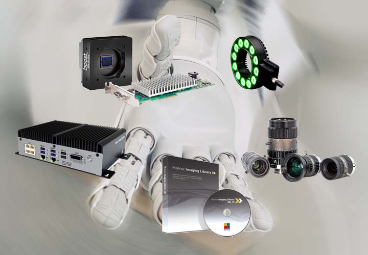 Product range Standard vision components