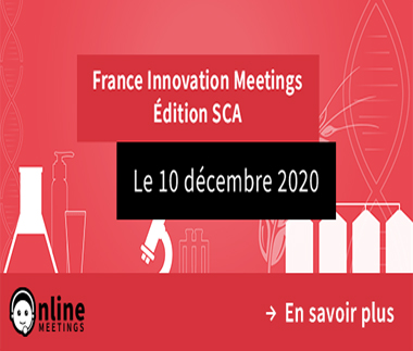 I2S Evenement France innovation meetings Health, Cosmetic, Agro - Online meetings